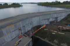 Dam Face Concrete Rehabilitation Project #1