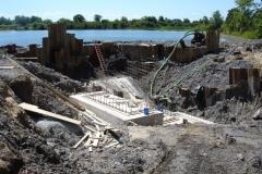 St. Lawrence River Pump House Construction