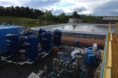 500,000 Gallon Remedial Water Storage and Water Treatment