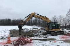 Building Foundation Demolition