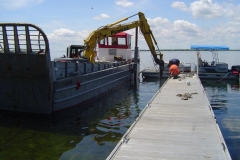 Commercial Dock Installation
