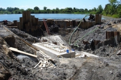 St. Lawrence River Pump House Construction