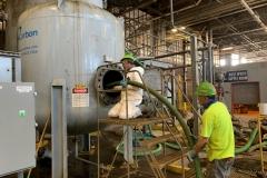 West-Plant-Carbon-Cleanout