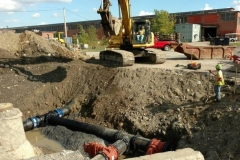 18'' Ductile Pipeline Installation